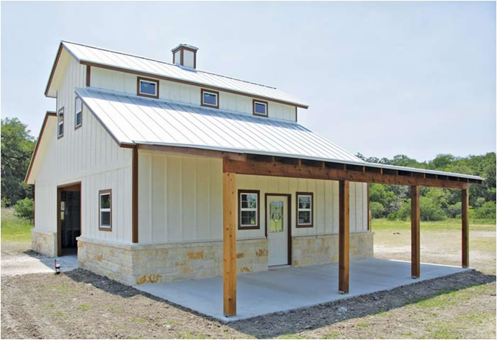 Barndominiums low cost land for Cost to build a house in texas